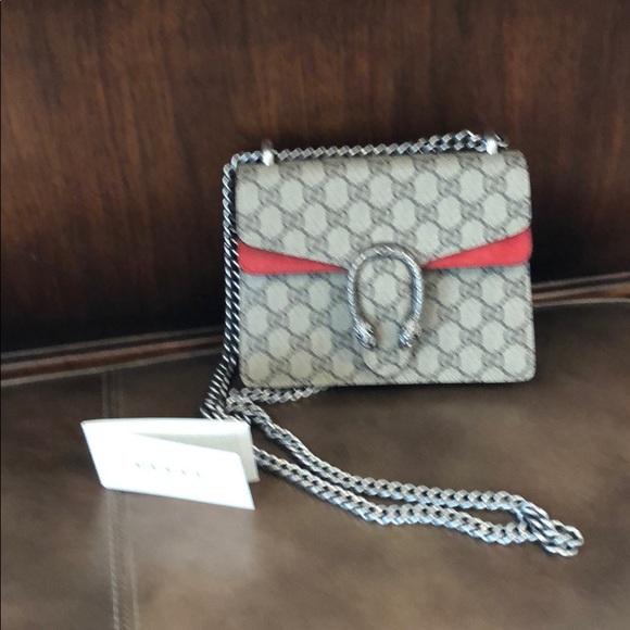 8cd23f1d Gucci Bags | Dionysus Gg Supreme Mini Shoulder Bag | Poshmark